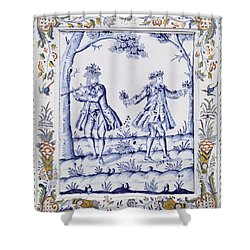The Magic Flute Shower Curtain by French School