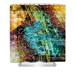 The Magic Key. Shower Curtain