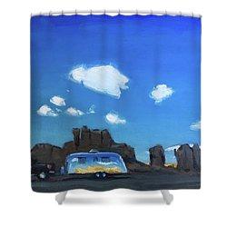 Feeling The Magic Of Acoma Shower Curtain