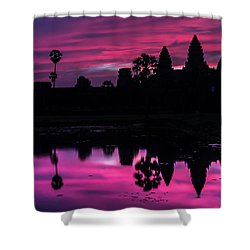 The Magic Of Angkor Wat Shower Curtain