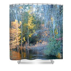 The Magic Of Autumn Sunshine Shower Curtain