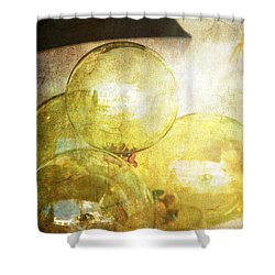 The Magic Of Christmas Shower Curtain by Susanne Van Hulst