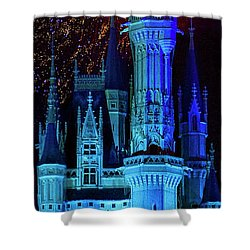The Magic Of Disney Shower Curtain by Mark Andrew Thomas