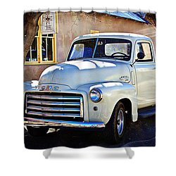 The Magic Of The 1949 Gmc 100 Shower Curtain