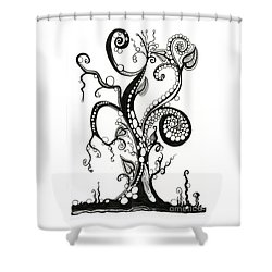 The Magic Tree Shower Curtain