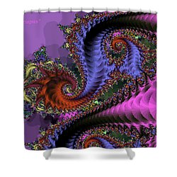 The Magic Triapus Shower Curtain