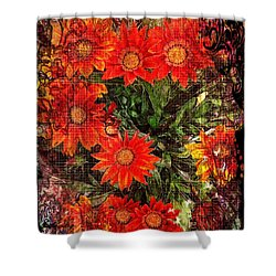 The Magical Flower Garden Shower Curtain