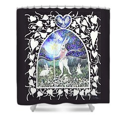 The Magician Shower Curtain