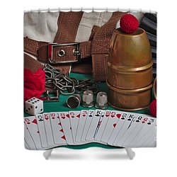 The Magician's Retreat Shower Curtain