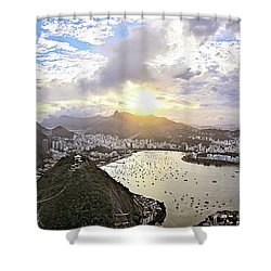 The Magnificent City Shower Curtain