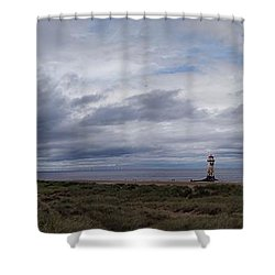 The Main View Shower Curtain