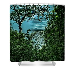 Shower Curtain featuring the photograph The Majestic Victoria Falls by Karen Lewis