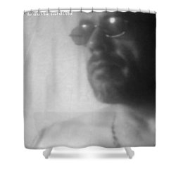 The Male Figure  From Shower Curtain by David Cardona
