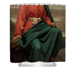 The Man Of Sorrows Shower Curtain by Sir Joseph Noel Paton