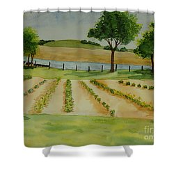 The Mangan Farm  Shower Curtain