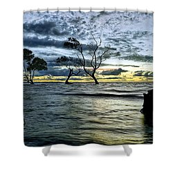 The Mangrove Trees Shower Curtain