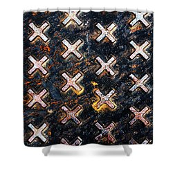 The Manhole Shower Curtain