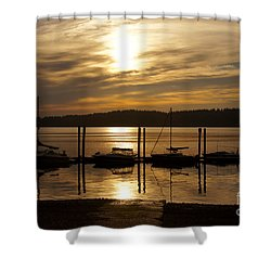 The Marina Shower Curtain