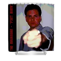 The Marksman - Point Blank Shower Curtain