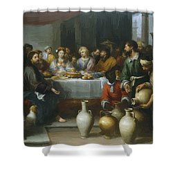 The Marriage Feast At Cana Shower Curtain