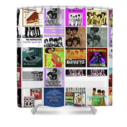 The Marvelettes 1 Shower Curtain