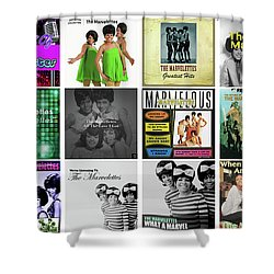 The Marvelettes 3 Shower Curtain