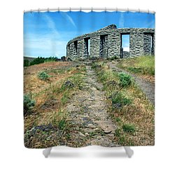 The Maryhill Stonehenge Shower Curtain