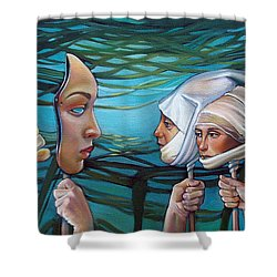 The Masqueradeum Shower Curtain by Patrick Anthony Pierson