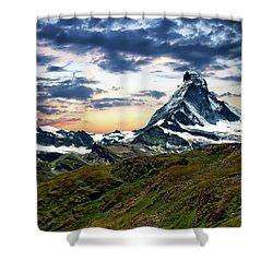 The Matterhorn Shower Curtain