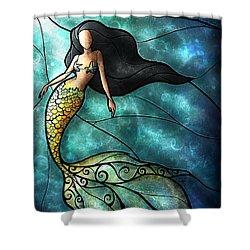The Mermaid Shower Curtain