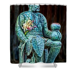 The Merrie Monarch Shower Curtain by Christopher Holmes