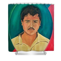 The Mexican Shower Curtain
