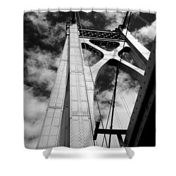 The Mid-hudson Bridge Shower Curtain