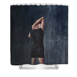 The Midnight Diary Shower Curtain by Paul Cristian Panaete