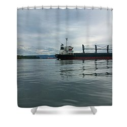 The Mighty Columbia Shower Curtain