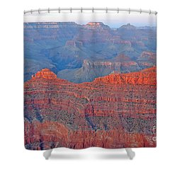 The Mighty Grand Canyon Shower Curtain by Nick  Boren
