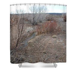 The Mighty Santa Fe River Shower Curtain by Rob Hans