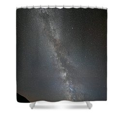The Milky Way - Our Home In Space. Shower Curtain