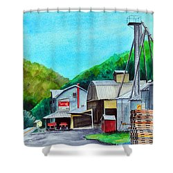 The Mill At Shade Gap II Shower Curtain