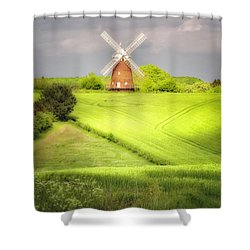 The Mill Uphill Shower Curtain