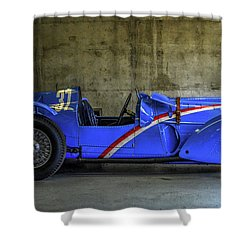The Million Franc Car Shower Curtain