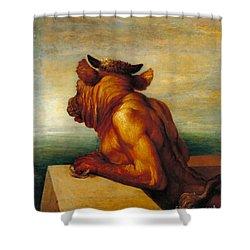 The Minotaur Tate Britain Shower Curtain