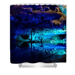The Mirror Pool Shower Curtain by Mark Dodd