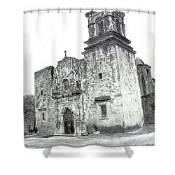The Mission Shower Curtain by Barry Jones