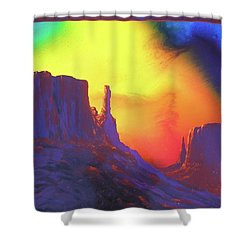 The Mittens , Psalm 19 Shower Curtain by Alan Johnson