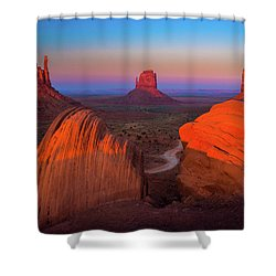 The Mittens Shower Curtain