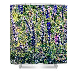 Shower Curtain featuring the photograph The Mix by Elfriede Fulda