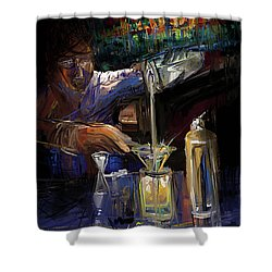 The Mixologist Shower Curtain
