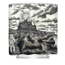 The Moher Giant Shower Curtain