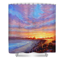 The Moment Of Glory Shower Curtain